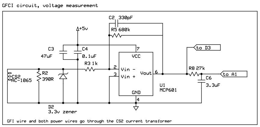Gfci Internal Schematic - Patent us6339525 arc fault detector with ...